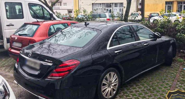 Pronađen Mercedes-Benz za kojim je bila raspisana međunarodna potraga / Foto: fup.gov.ba /