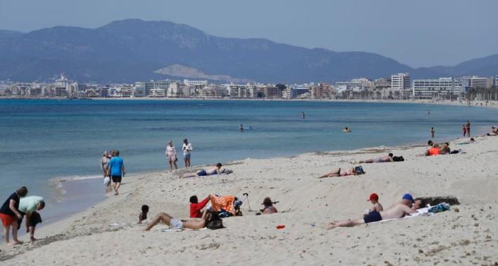 Ovako trenutno izgledaju plaže na Mallorci (FOTO: Bild)